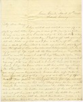 Correspondence | Letter from Lucinda Greer to Mary Caldwell, April 1860
