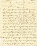 Correspondence | Letter from Mary Caldwell to John Henry Caldwell, September 1860