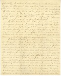 Correspondence   Civil War letter from John Henry Caldwell to Mary Caldwell, July 1861