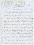 Correspondence | Civil War letter from John Henry Caldwell to Mary Caldwell, October 1861