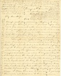 Correspondence   Civil War letter from John Henry Caldwell to Mary Caldwell, December 1861