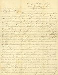 Correspondence | Civil War letter from John Henry Caldwell to Mary Caldwell, April 1862