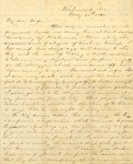 Correspondence | Civil War letter from John Henry Caldwell to Mary Caldwell, May 1862