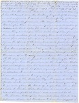 Correspondence | Civil War letter from John Henry Caldwell to Mary Caldwell, May/June 1862