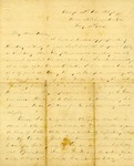 Correspondence | Civil War letter from John Henry Caldwell to Mary Caldwell, August 1862