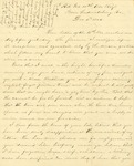 Correspondence   Civil War letter from John Henry Caldwell to Mary Caldwell, December 1862
