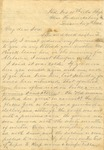 Correspondence | Civil War letter from John Henry Caldwell to Walter Caldwell, December 1862