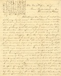 Correspondence | Civil War letter from John Henry Caldwell to Mary Caldwell, December 1862