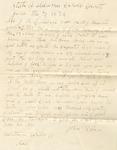 Correspondence | Letter from John Roeben to John Henry Caldwell, June 1874