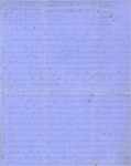 Correspondence   Civil War letter from John Henry Caldwell to Mary Caldwell, June 1863