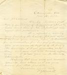 Correspondence | Letter from T.J. Burton to John Henry Caldwell, June 1872