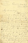 Correspondence | Letter from Mary Caldwell to Ed Caldwell, December 1874