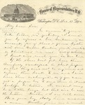 Correspondence   Letter from John Henry Caldwell to Ed Caldwell, December 1874
