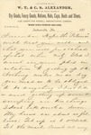 Correspondence   Letter from Tom Isbell to Ed Caldwell, November 1874