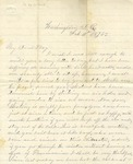 Correspondence | Letter from John Henry Caldwell to Ed Caldwell, February 1875
