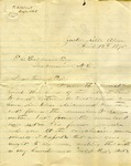 Correspondence | Letter from Sam to Ed Caldwell, April 1875