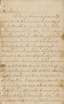 Correspondence | Letter from Josie to Ed Caldwell, 1875