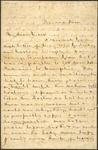 Correspondence   Letter from Sarah Brewer to Mary Caldwell, June 1875