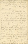 Correspondence | Letter from Mary Caldwell to Ed Caldwell, February 1876