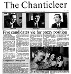 Chanticleer | Vol 33, Issue 14