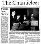 Chanticleer | Vol 33, Issue 20