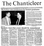 Chanticleer | Vol 33, Issue 26