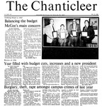 Chanticleer | Vol 34, Issue 10