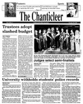 Chanticleer | Vol 39, Issue 8