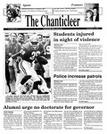 Chanticleer | Vol 39, Issue 13