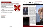 Cole Train | v.12, no.1 (Spring 2015) by Houston Cole Library