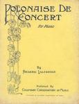 Polonaise de Concert by Frederic Lillebridge